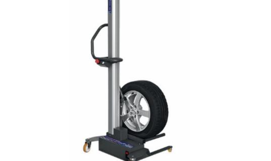 Battery-powered wheel lifter from Sykes-Pickavant