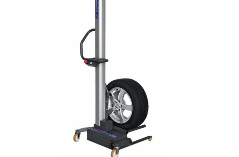 Battery-powered wheel lifter from Sykes-Pickavant