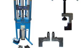 Save £169 on Sykes-Pickavant pneumatic coil spring compressor workstation