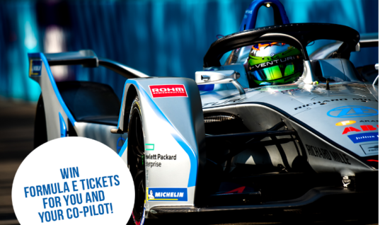 All-expenses paid trip to Formula E race on offer by visiting brand's social media page