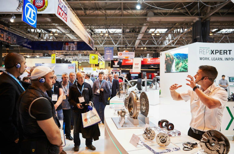 VIP experience on offer from Schaeffler at Automechanika Birmingham