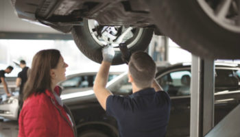 Garages should be positioned as 'experts' by offering safety checks to customers