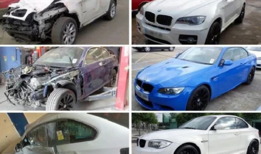 """Pair jailed for """"superficially"""" repairing BMWs with stolen parts before selling on eBay"""