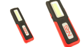 LED work lights with three-hour running time at Hickleys
