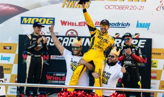 MOOG returns as steering and suspension sponsor of NASCAR Whelen Euro Series