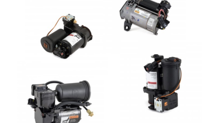 Everything you need to know about air suspension compressors