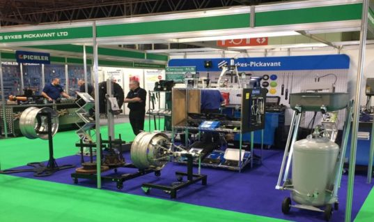 Pullers prove popular for Sykes-Pickavant at CV Show