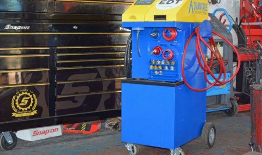 Landrover specialist keeps emissions down with EDT engine decontamination machine