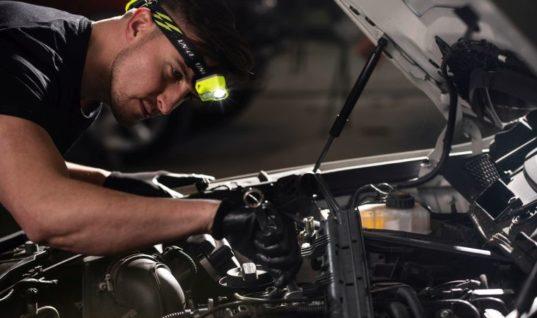 Unilite reveals headtorch features for mechanics