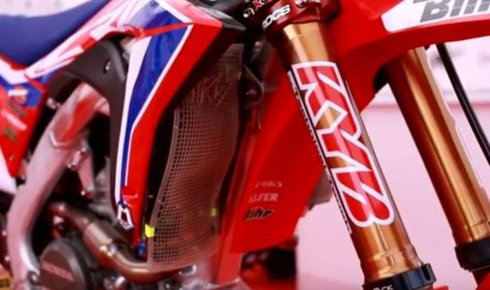 Watch: Promo video shows KYB racers in action at MXGP
