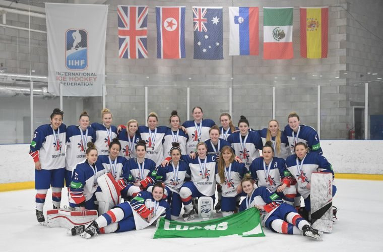 Lucas seals GB women's ice hockey win with sponsorship deal