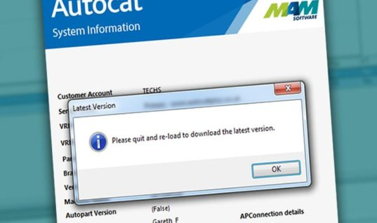 MAM catalogue users advised to prepare for forthcoming update
