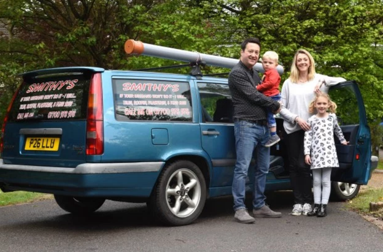 Smithy's Volvo lives on as family car and could feature in new Christmas special
