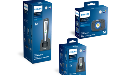New video highlights  Philips Automotive workshop lamp range