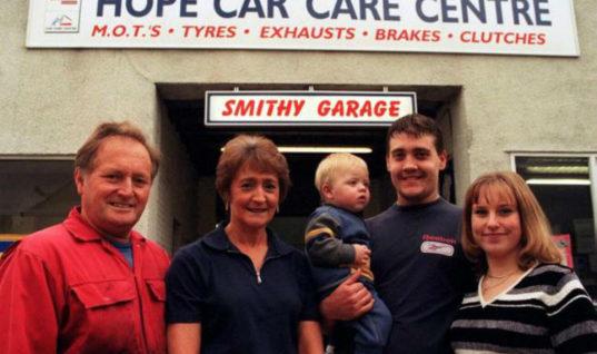 Tributes paid to popular garage owner