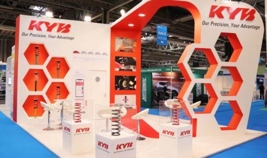KYB wins best stand award at Automechanika Birmingham