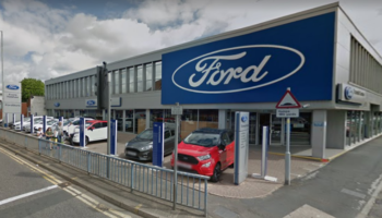 Main dealer forgets to secure axle after replacing engine on customer's car