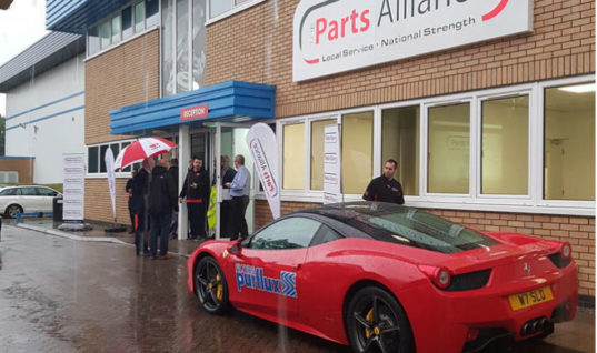 The Parts Alliance open evening attracts over 200 customers despite heavy rain