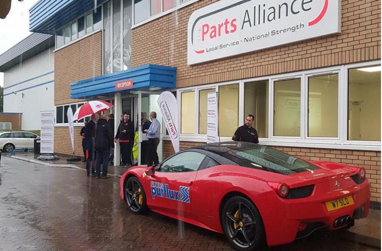 The Parts Alliance open evening attracts over 200 customers despite heavy rain
