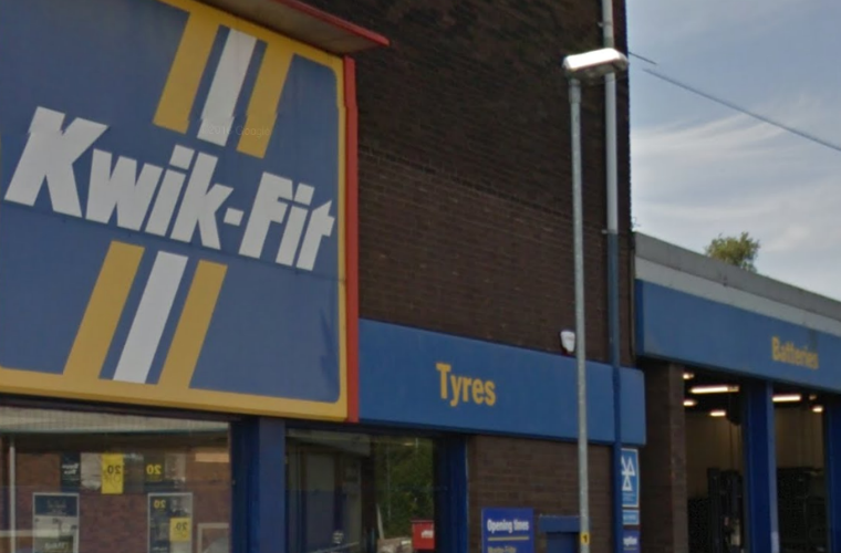 Kwik-Fit fitter to lose driving license for having bald tyres