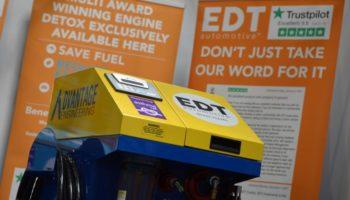 Garages in Peterborough eligible to save £1,100 on EDT engine decontamination machine