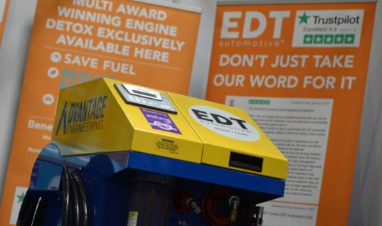Garages in Peterborough eligible to save £1,100 on EDT engine decontamination machine