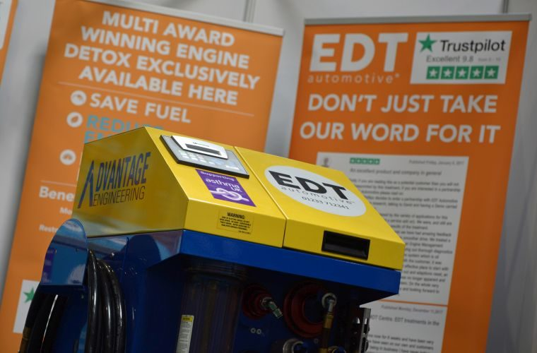 Garages in Ipswich eligible to save £1,100 on EDT engine decontamination machine