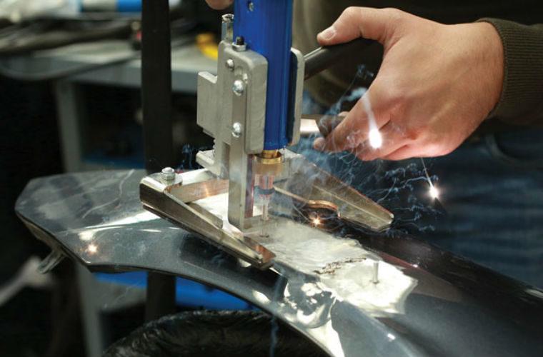 Power-TEC aluminium repair station