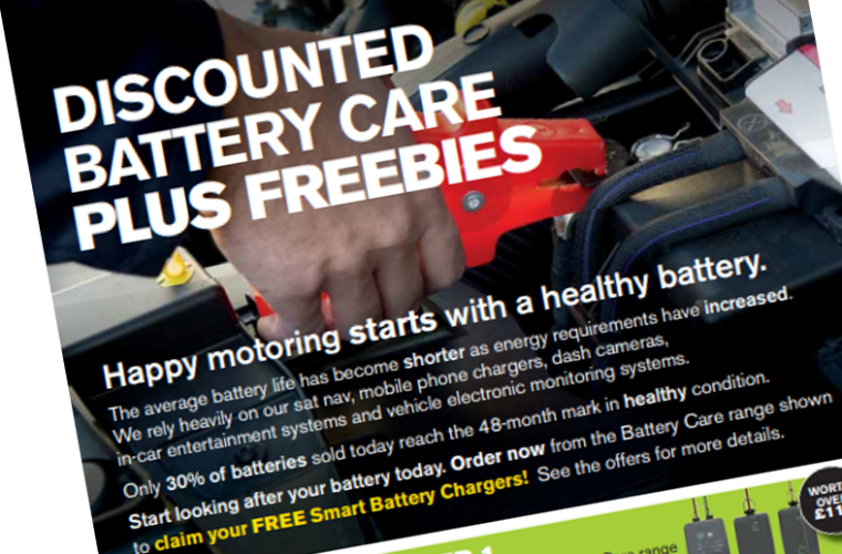 Claim a free smart battery charger with Ring's battery care range