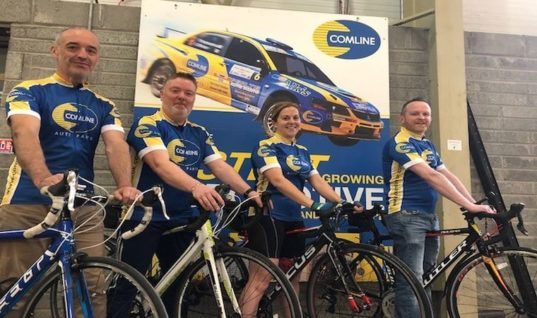 Team Comline conquers Wicklow 200
