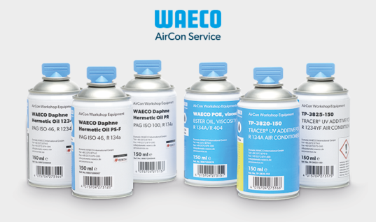 Avoid compressor corrosion with WAECO professional oil and UV additive systems