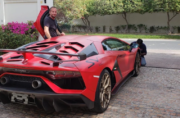Brit pulled over by French police blames prosthetic leg for speeding in Lambo