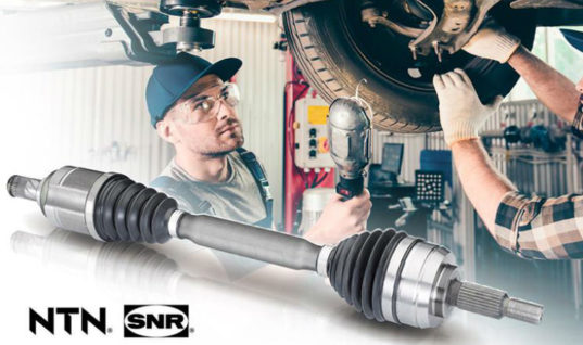 NTN-SNR launches new references to range of CV joint kits