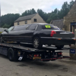 Police seize limo taxi with expired MOT and give occupants lift to Grand Prix