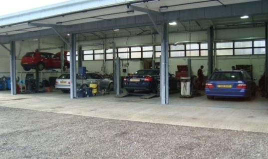 "Garage full of praise for ""invaluable"" garage management system"