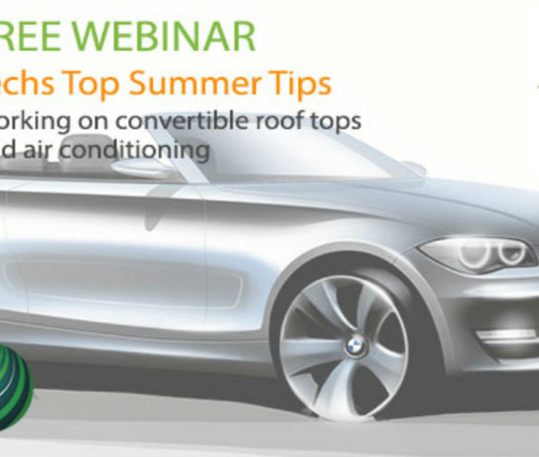 Autologic webinar to cover convertible roof tops and air conditioning