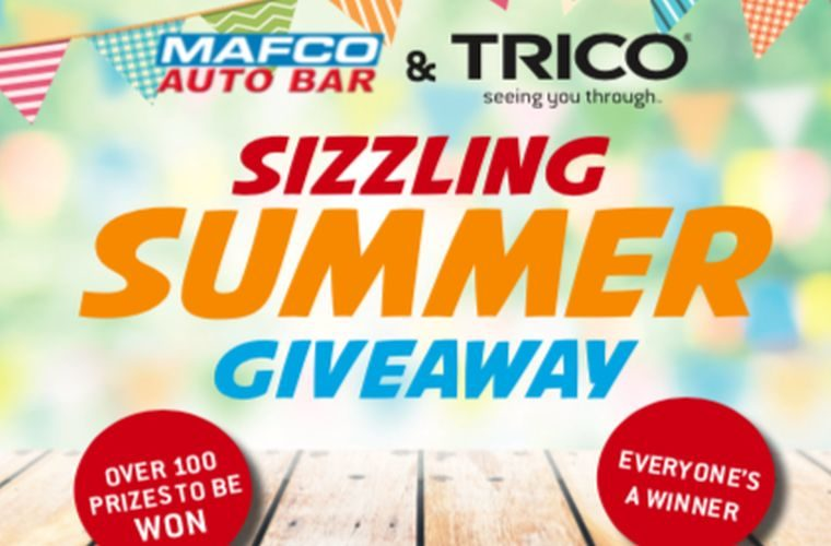 TRICO and MAFCO Autobar 'perfect summer' promotion goes live