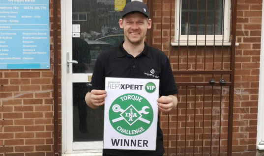 REPXPERT member wins VIP Brands Hatch weekend