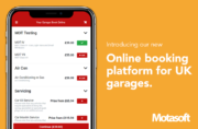 Motasoft launches new online booking platform for UK garages