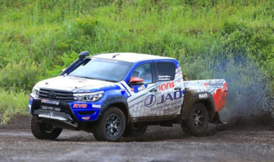 Asia cross country rally success for team JAOS