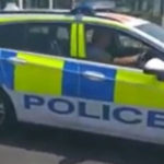 "Video: Man given ""words of advice"" after police car joyride"