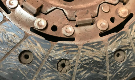 Competition: what's wrong with this clutch plate?