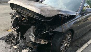 Under-bonnet fire destroys BMW months after EGR cooler was replaced under recall
