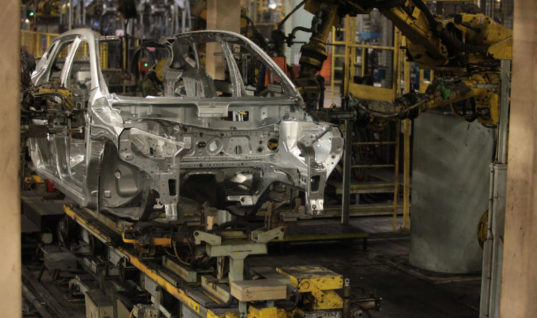 UK's car industry investment in steep decline