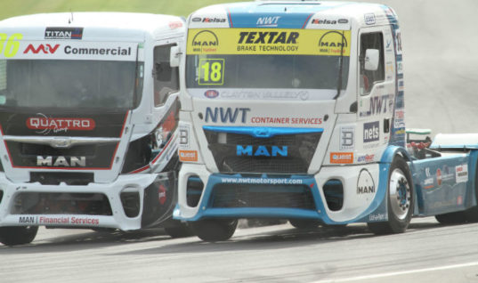 Textar's Newell & Wright Motorsport moves up to fourth in BTRC