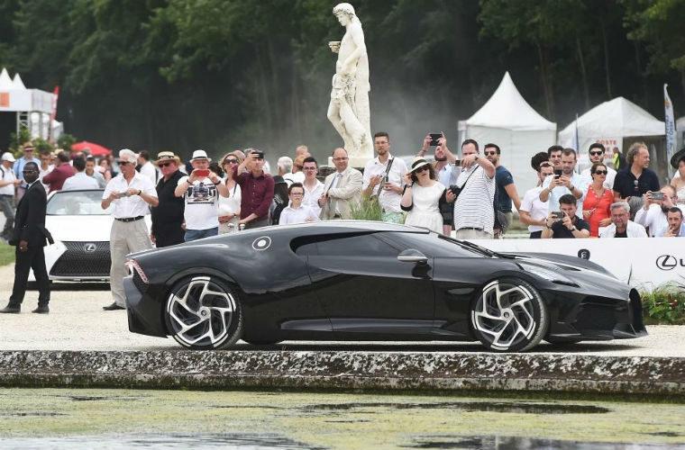 Bugatti La Voiture Noire becomes most expensive new car ever