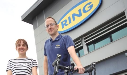 Ring gears up support for duo taking on charity challenges