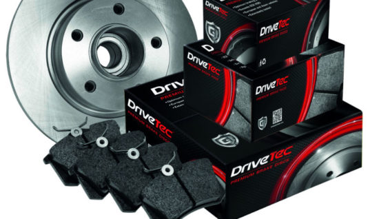 The Parts Alliance extends DriveTec braking range