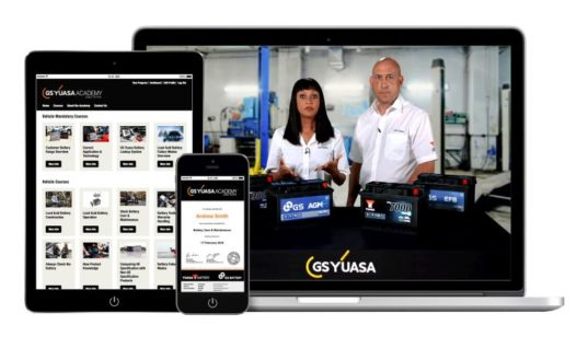 GS Yuasa to exhibit online training academy and YBX commercial vehicle range