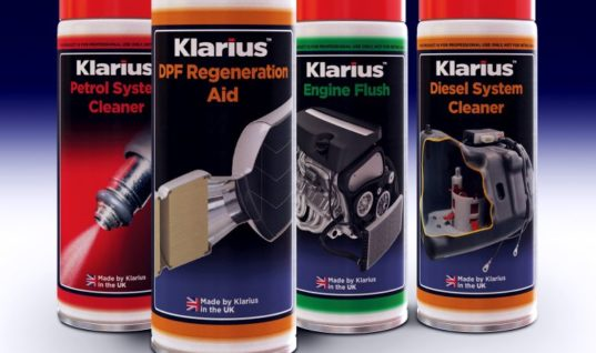 Klarius adds premium engine maintenance and service fluids to range